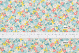 Japanese Fabric Floral Barkcloth - 50cm