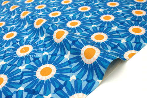 Cotton + Steel Freshly Picked - dahlia - blue - 50cm