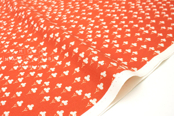 Cotton + Steel Front Yard - clovers - red - fat quarter