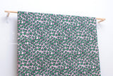Japanese Fabric double gauze stars - peach pink, green - 50cm
