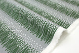 Japanese Fabric Kokka Tayutou Grassland - green, grey - fat quarter