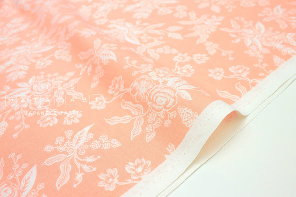Cotton + Steel English Garden - toile peach - fat quarter