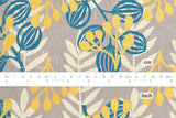 Cotton + Steel Imagined Landscapes canvas - meadow - midnight, metallic - fat quarter