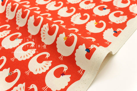 Cotton + Steel Akoma - Sankofa - cherry - fat quarter
