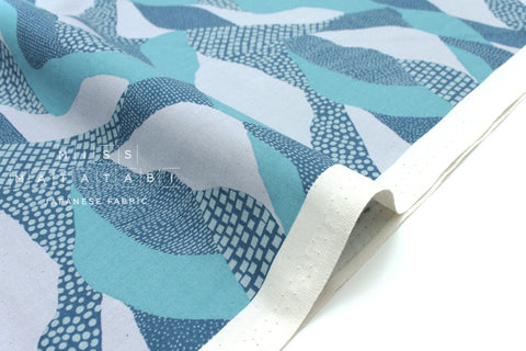 Cotton + Steel Imagined Landscapes - lands end - moonlight - fat quarter