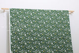 Japanese Fabric Kokka Alpha Animals - green - 50cm