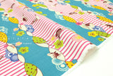 Japanese Fabric Tori Border dobby - B - 50cm