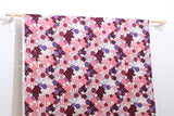 Japanese Fabric Kokka Retro Wa - pink - 50cm