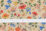 Japanese Fabric Cheery Floral - multi -  50cm