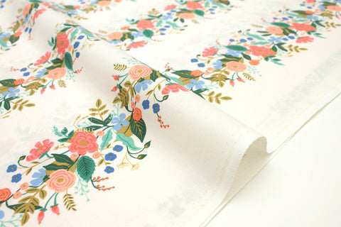 Cotton + Steel English Garden - vines cream - 50cm