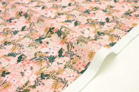 Cotton + Steel English Garden - meadow pink - 50cm