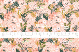 Cotton + Steel English Garden - meadow pink - fat quarter