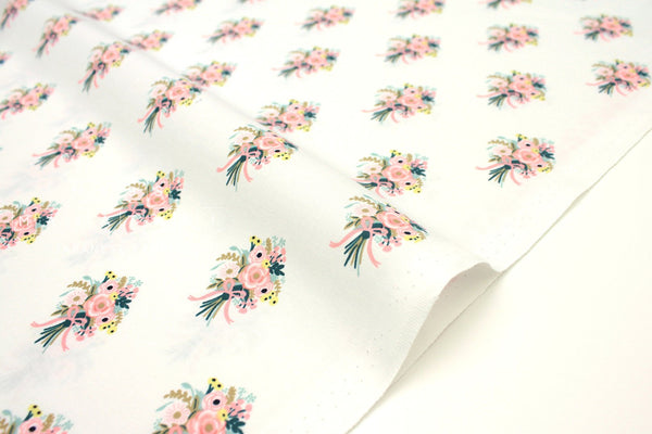 Cotton + Steel English Garden - bouquets cream - fat quarter