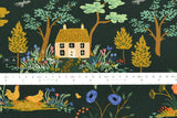 Cotton + Steel English Garden canvas - garden toile dark - fat quarter