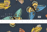Cotton + Steel English Garden canvas - monarch navy - 50cm