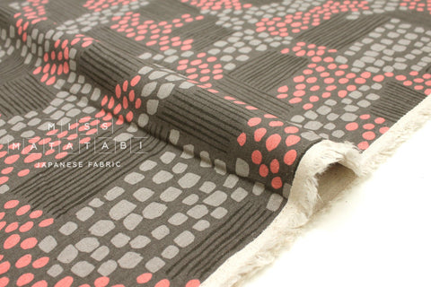 Cotton + Steel Imagined Landscapes canvas - aerial view - siesta - fat quarter