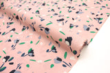 Japanese Fabric Petals rayon lawn - pink - 50cm