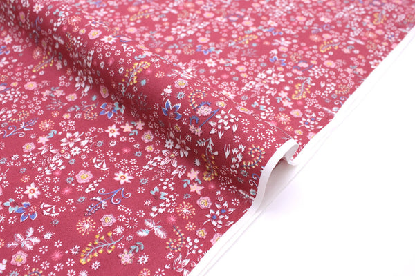 Japanese Fabric Dainty Floral - pink - 50cm