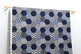 Japanese Fabric Kokka Japanese Blue - heavy canvas - blue - fat quarter