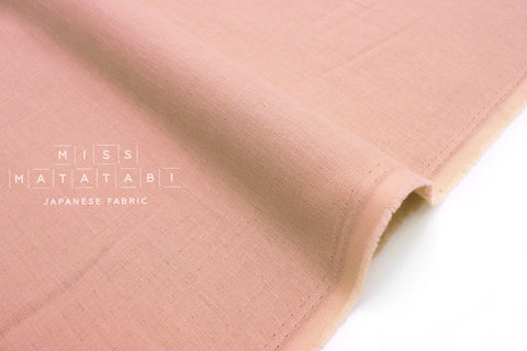 Japanese Fabric Muji double gauze - peach rose - 50cm