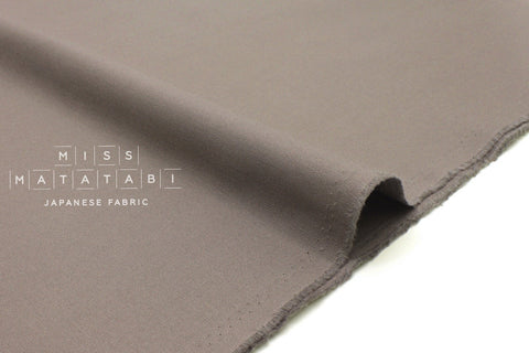 Japanese Fabric Muji canvas - taupe grey - 50cm