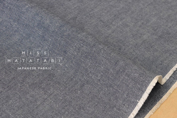 Japanese Fabric Sakizome Chambray - 50cm
