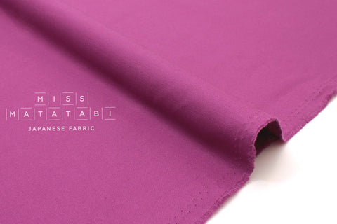 Japanese Fabric Muji canvas - jewel pink - 50cm