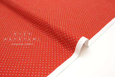 Japanese Fabric Cotton + Steel Basics - Stitch & Repeat - strawberry - fat quarter