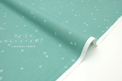 Japanese Fabric Cotton + Steel Basics - Clover and Over - seaside - 50cm