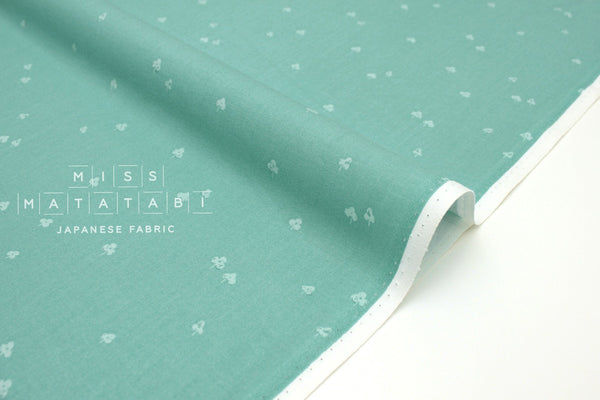 Japanese Fabric Cotton + Steel Basics - Clover and Over - seaside - fat quarter