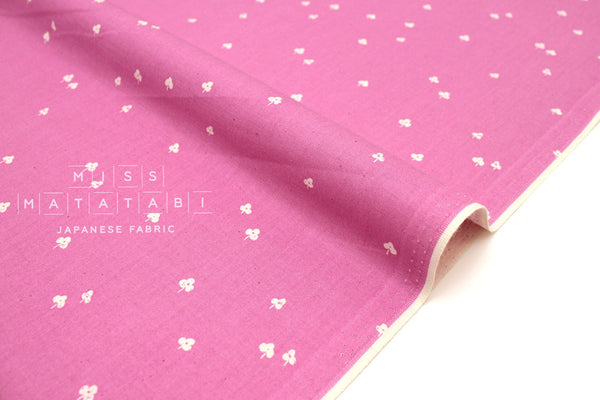 Japanese Fabric Cotton + Steel Basics - Clover and Over - sweet pea - 50cm