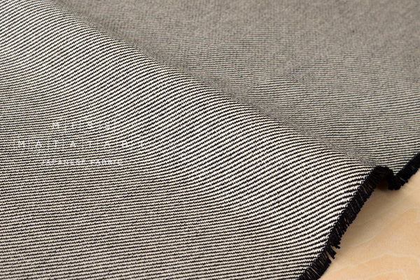 Japanese Fabric Cotton Gabardine - black - 50cm
