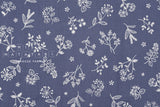 Japanese Fabric La vie en Rose - blue - fat quarter