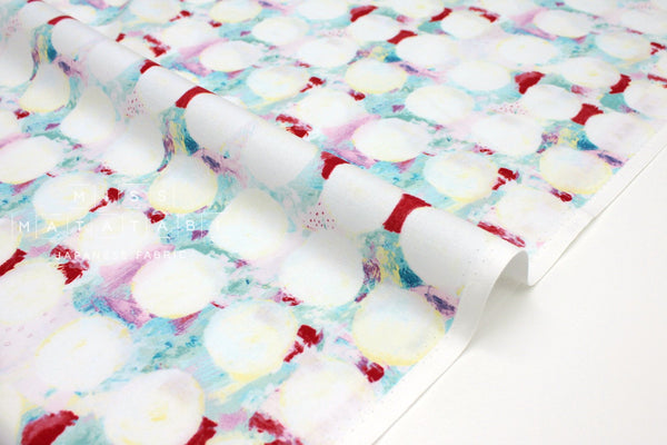 Japanese Fabric Cotton + Steel Once Upon A Time - Okii Dot - red - 50cm