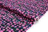 Cotton + Steel Once Upon A Time Rayon - Love Flower - rose - 50cm