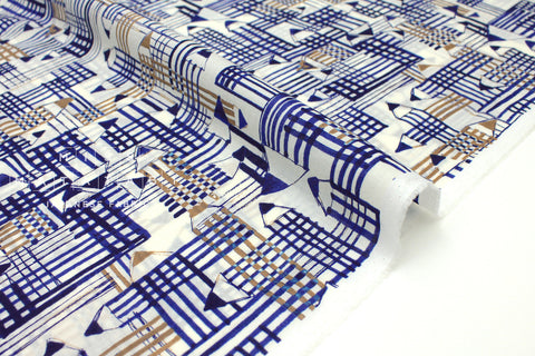 Japanese Fabric Pencils cotton lawn - blue - 50cm