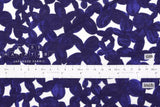 Japanese Fabric Clover cotton lawn - indigo blue - 50cm