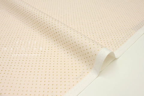 Japanese Fabric Cotton + Steel Basics - Stitch & Repeat - blush metallic - 50cm