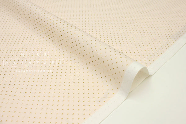 Japanese Fabric Cotton + Steel Basics - Stitch & Repeat - blush metallic - fat quarter