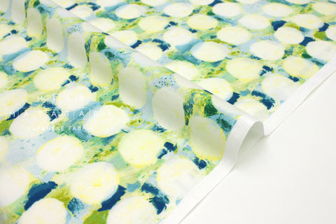 Japanese Fabric Cotton + Steel Once Upon A Time - Okii Dot - blue - fat quarter