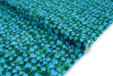 Cotton + Steel Once Upon A Time Rayon - Love Flower - azure - 50cm