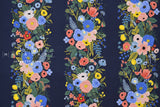 Cotton + Steel Wildwood - garden party vines navy - 50cm