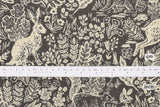 Cotton + Steel Wildwood canvas - fable grey - fat quarter