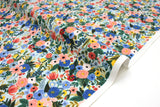 Cotton + Steel Wildwood - petite garden party blue - fat quarter