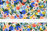Cotton + Steel Wildwood - petite garden party blue - 50cm