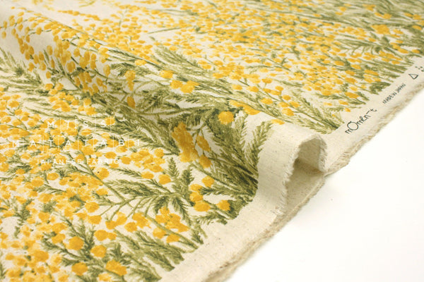 Japanese Fabric Mimosa Border - 50cm