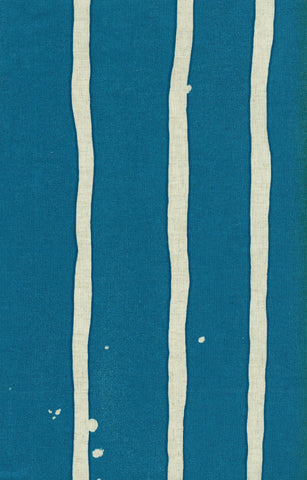 Japanese Fabric Kokka 3 min. stripe - blue - 50cm