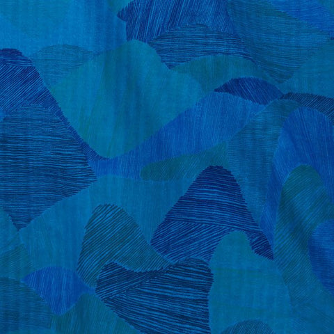 Japanese Fabric Nani Iro Mountain Views double gauze - L - 50cm