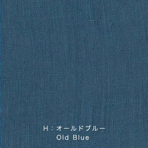 Nani Iro Kokka Naomi Ito Linen Colors Japanese Fabric - old blue - 50cm