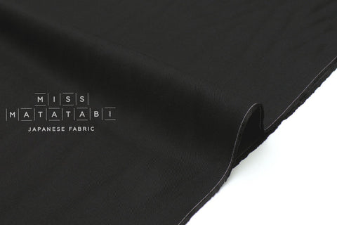 Japanese Fabric Rexcell Twill - black - 50cm